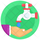 Cleaning Hand Prayer Wudu Hand Washing Icon