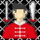 Wushu player Icon