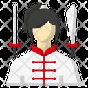 Avatar Sports Sword Icon