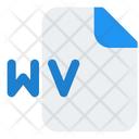 Wv File Audio File Audio Format Icon