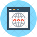Website Cyberspace Internet Site Icon