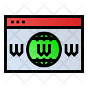 Website Webpage Seo Icon