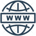 Seo Web Internet Icon
