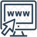 Seo Web Click Icon