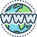 Web Network Communication Icon