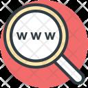 Www Magnifier Keyword Icon