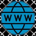 Www Globe Domain Seo Web Seo Web Icon