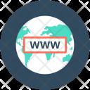 Www Globe Internet Icon