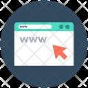 Www Internet Cyberspace Icon