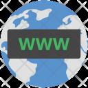 Www Cyberspace Globe Icon