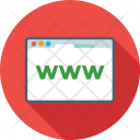 Www Domain Internet Icon