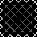 X Coordinate Icon