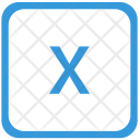 X letter Icon