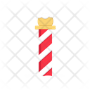 X Mas Stick Icon