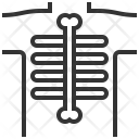 X Ray Treatment Medical Icon