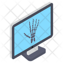 Online Radiology X Ray X Radiation Icon
