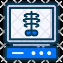 Medical Healthy X Ray Icon