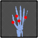 Hand Fracture Pain Icon