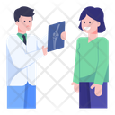 Doctors Discussion Doctors Talk X Ray Discussion Icon