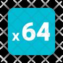 X 64 Icon