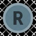 Xbox R Button Icon