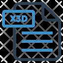 Xd File Sheet Icon