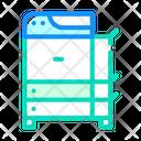 Copy Machine Equipment Icon