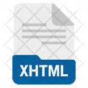 Xhtml File Format Icon