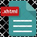 Xhtml File Sheet Icon