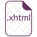 Xhtml File Document Icon