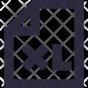 XL File Icon