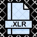 Xlr File File Extension Icon