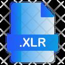 Xlr File Icon