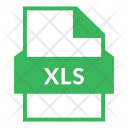 Xls Xls File Excel Icon