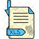 Xls Document Format Icon