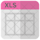 Xls Ms Excel Icon