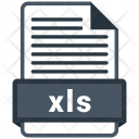 Xls File Formats Icon