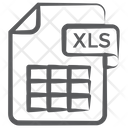 Xls File File Extension File Format Icon