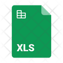 File Format Xls Icon