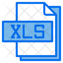 Xls File File Type Icon