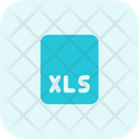 Xls File File Format Icon