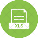 Xls File Extension Icon