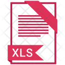 Xls Format Document Icon