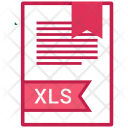 Xls Document File Icon