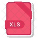Xls File Document Icon