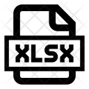 Xlsx Microsoft Excel Icon