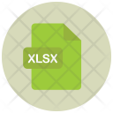 Xlsx File Extension Icon