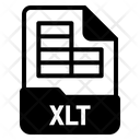 Xlt File Icon