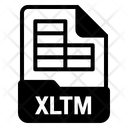 Xltm File Icon