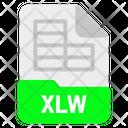 Xlw file Icon